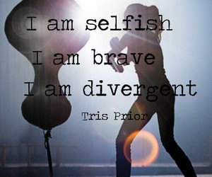 brave, divergent, and tris image