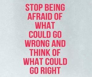 afraid, inspiration, and life image