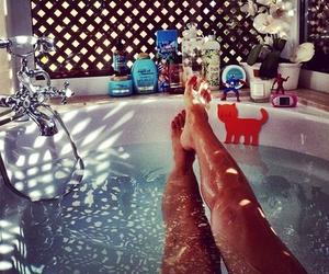 legs, luxury, and bathroom image