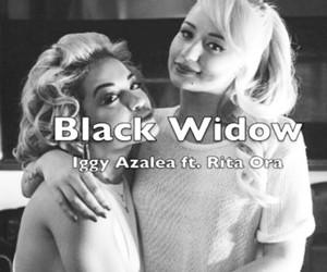 black widow, Lyrics, and music image