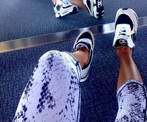 chanel, style, and shoes image