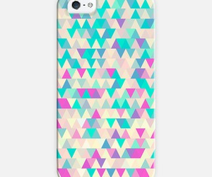 girly, triangles, and iphone cases image