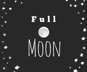 full moon and love image