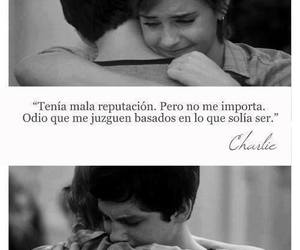 alone, frases, and love image