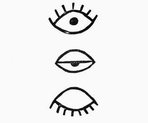 eyes, wallpaper, and black image