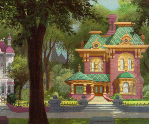 house, disney, and vintage image