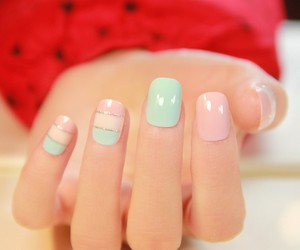 nails art cute simple image
