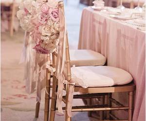 wedding, pink, and roses image