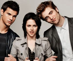 Taylor Lautner, kristen stewart, and robert pattinson image