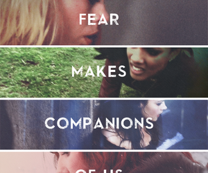 doctor who, companions, and fear image