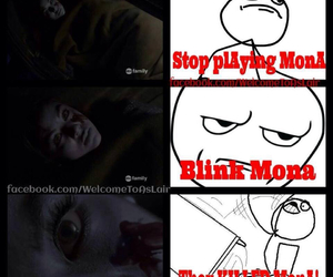 pll, mona, and pretty little liars image