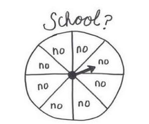 school and no image