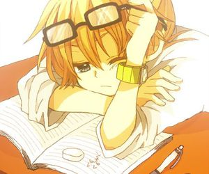 vocaloid, anime, and len kagamine image