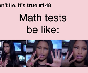 funny, math, and test image