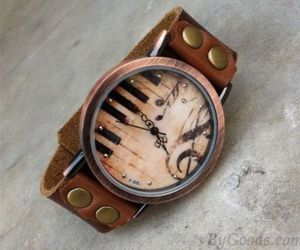 watch, music, and art image
