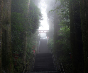 japan, staircases, and traveling image