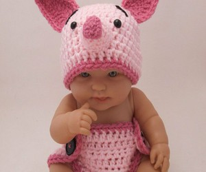 baby, cute, and piglet image