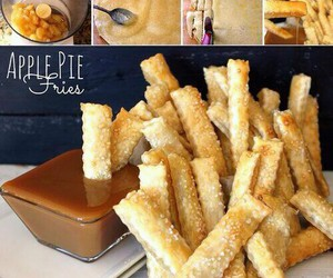food, pommes, and apple image