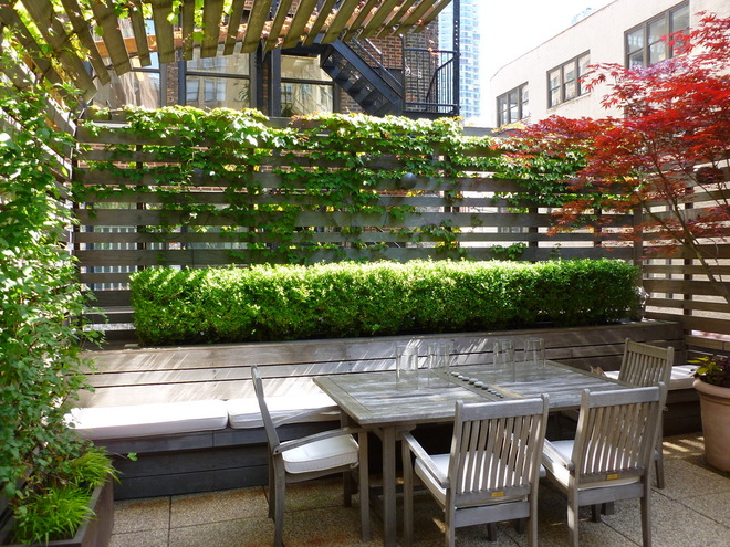 Exterior. Let\'s Designs Apartment Balcony Privacy Screen ...