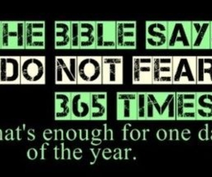 bible, fear, and verse image