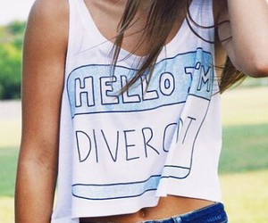 clothes and divergent image