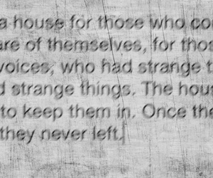 asylum, book, and quote image