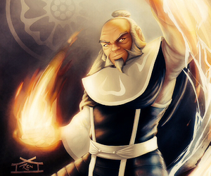 atla, iroh, and firebender image