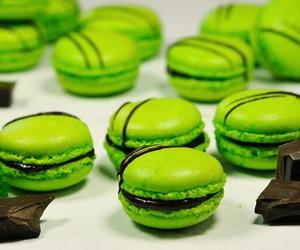 chocolate, food, and green image