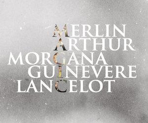 arthur, guinevere, and lancelot image