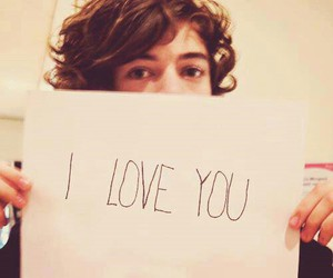 one direction, Harry Styles, and I Love You image