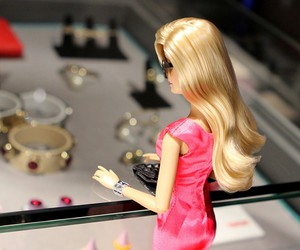 barbie and shopping image