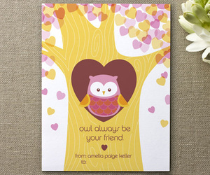 card, couple, and friend image