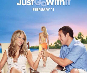 adam sandler, Jennifer Aniston, and just go with it image