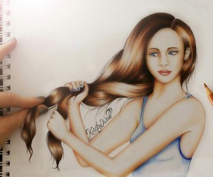 art, girl, and kristina webb image