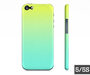 lime green, iphone case, and turqouise blue image