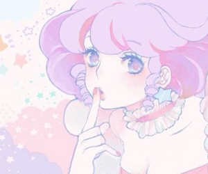 cute, pink, and pastel image