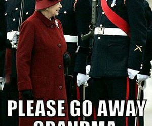 funny, Queen, and grandma image
