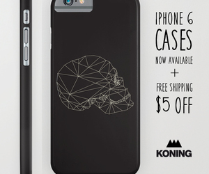 cases, iphone case, and skull image