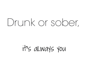 always, sober, and you image