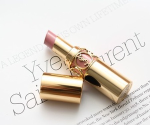 lipstick, YSL, and Yves Saint Laurent image