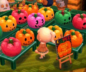 animal crossing, happy halloween, and 3ds image
