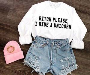fashion, unicorn, and outfit image