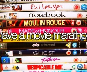 movie, Marathon, and movie marathon image