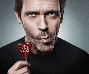 love, dr house, and sucks image