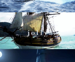 once upon a time, onceuponatime, and the jolly roger image