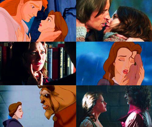 belle, disney, and once upon a time image