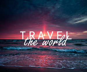 beauty, water, and travel image