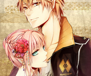 anime, amnesia, and couple image
