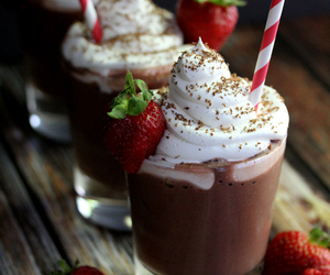chocolate, strawberry, and sweet image