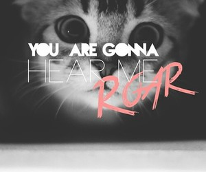 roar, cat, and katy perry image